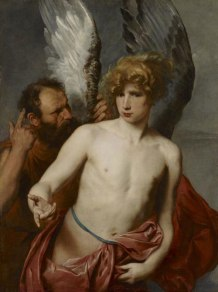 Anthony van Dyck (Flemish), Daedalus and Icarus, c. 1620, oil on canvas, 115.3 x 86.4 cm, Art Gallery of Ontario.