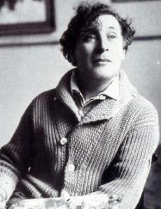 Photo of Marc Chagall.