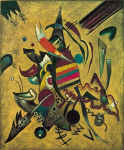 Click image to enlarge. Wassily Kandinsky (Russian), Points, 1920, oil on canvas, Ohara Museum, Kurashiki, Japan.