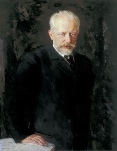 Click image to enlarge. Nicolai Kuznetsov (Ukranian), Portrait of Pyotr Ilyich Tchaikovsky, 1893.