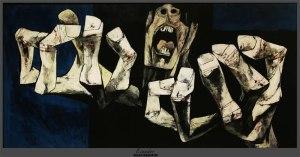 Guayasamin, Los manos de protesta (The Hands of Protest), part series La Edad de Ira (The age of Fury).