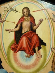 Click image to enlarge. Lucas Cranach the Elder, The Last Judgement, detail.